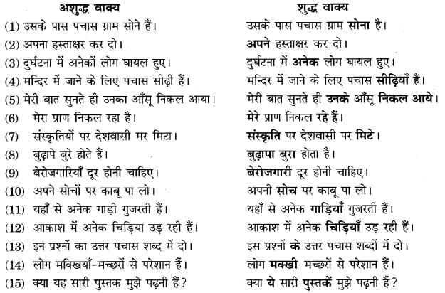 10th Class RBSE Hindi Solution