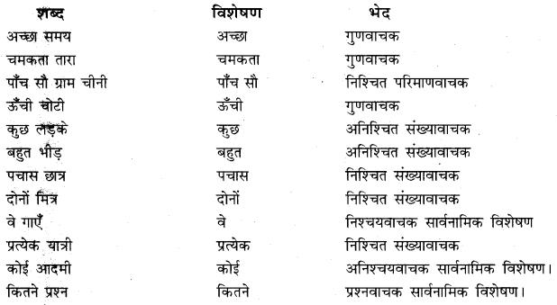 Ling Ka Visheshan Par Prabhav RBSE Class 10