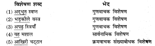 Visheshan RBSE Class 10