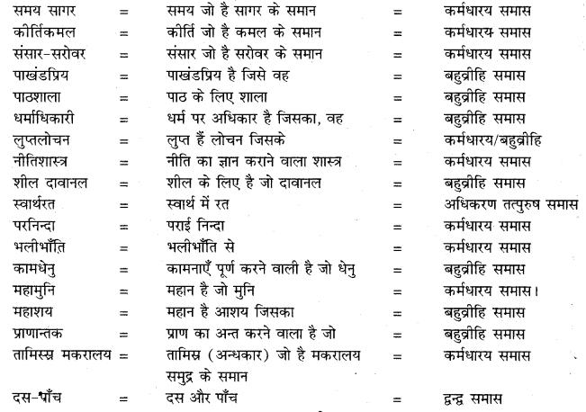 Samas Class 10 Hindi