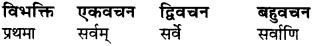 Sanskrit Ram Shabd Roop Class 6 RBSE