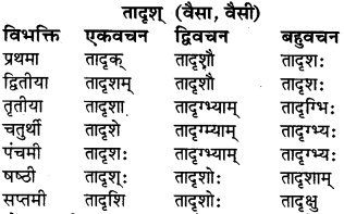 Ram Shabd Ke Roop Sanskrit Mein Class 6 RBSE