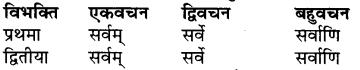 Shabd Roop Sanskrit Mein RBSE Class 7