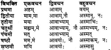 Ganesh Shabd Roop In Sanskrit RBSE Class 7