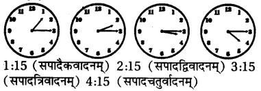 Samay In Sanskrit Class 7 RBSE