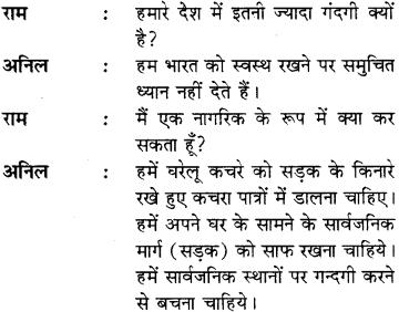 Samvad Lekhan In Hindi Class 8 RBSE