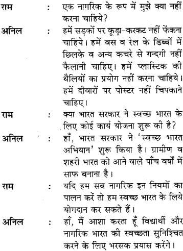 Samvad Lekhan Topics In Hindi For Class 8 RBSE