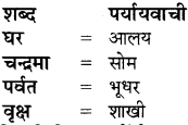 Paryayvachi Shabd In Hindi For Class 8 RBSE