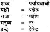 Paryayvachi Shabd In Hindi Class 8 RBSE