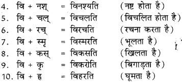 Sanskrit Ke Upsarg Ke Udaharan RBSE Class 8