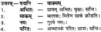 परितः का वाक्य In Sanskrit RBSE