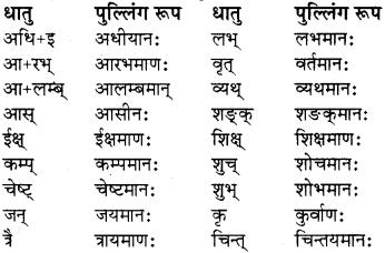 pratyay sanskrit class 8 RBSE