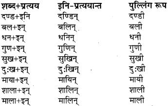class 8 sanskrit pratyay RBSE