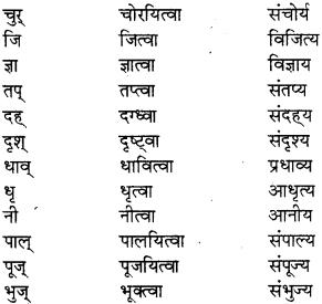 pratyay in sanskrit class 8 RBSE