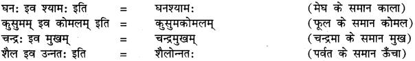 अव्ययीभाव समास In Sanskrit RBSE