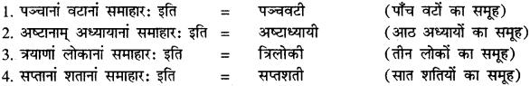 Sanskrit Mein Samas Ke Udaharan RBSE