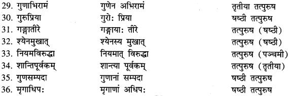 Karmadharaya Samas In Sanskrit
