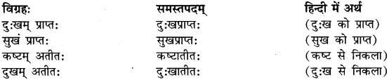 Bahuvrihi Samas Examples In Sanskrit RBSE