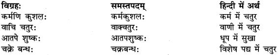 Examples Of Avyayibhav Samas In Sanskrit RBSE