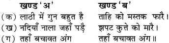Girdhar Ki Kundaliya Class 8 RBSE Solution