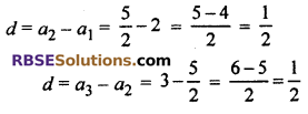 Ex 5.1 Class 10 RBSE Arithmetic Progression