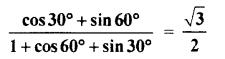 RBSE Solution For Class 10th Maths Trigonometric Ratios Miscellaneous