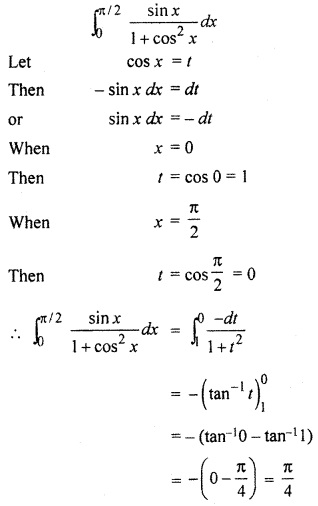 RBSE Solutions For Class 12 Maths Chapter 10 Miscellaneous Definite Integral