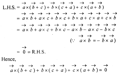 RBSE 12 Maths Solution Ex 13.3