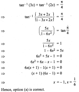 Class 12 Maths Chapter 2 Miscellaneous Exercise Solutions RBSE