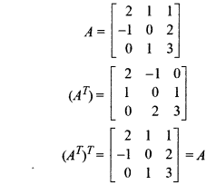 Miscellaneous Exercise Matrices Class 12 RBSE