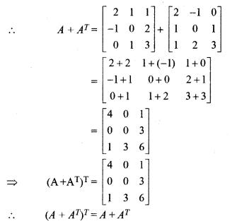 Maths Class 12 Chapter 3 Miscellaneous RBSE