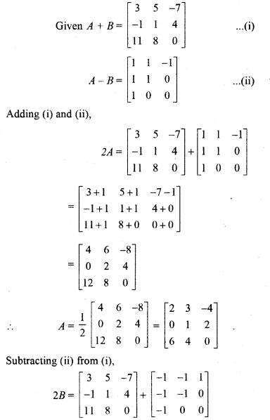 Miscellaneous Exercise On Chapter 3 Class 12 RBSE