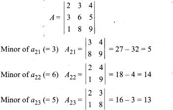 Ex 4.2 Class 12 Determinants RBSE