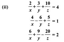 Inverse Matrix  RBSE Solutions Class 8 Maths Chapter 5 Exercise 5.2
