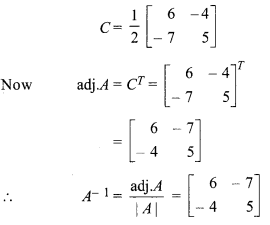 Chapter 5 Maths Class 12 Inverse Of A Matrix And Linear Equations