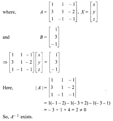 Exercise 5.2 Question Number 12 Inverse Of A Matrix And Linear Equations
