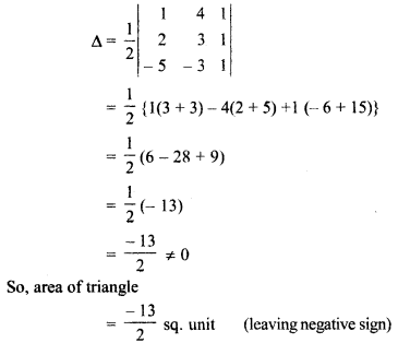 RBSE Solutions For Class 12 Maths Chapter 5 Miscellaneous Inverse Of A Matrix And Linear Equations