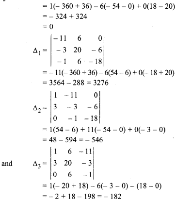 5.2 12th Maths Inverse Of A Matrix And Linear Equations