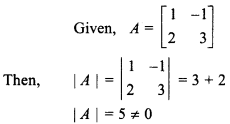 RBSE Solutions For Class 12 Maths Chapter 5