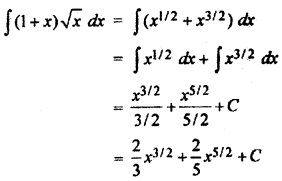 RBSE Solutions For Class 12 Maths Chapter 9 Integration