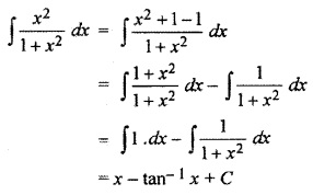 RBSE Solutions For Class 10 Maths Chapter 9.1 Integration