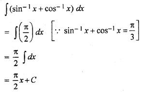 RBSE Math Solution Class 12 Integration