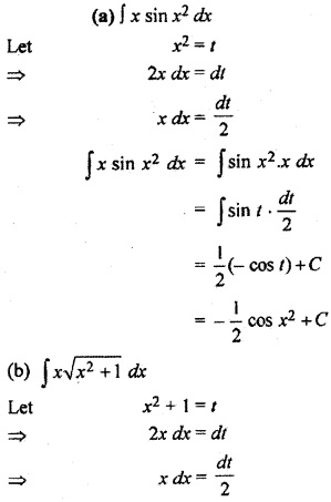 Exercise 9.2 Class 12 Maths RBSE Integration