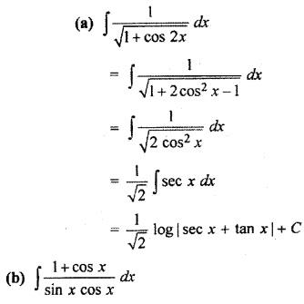 Ex 9.2 Class 12 Maths Integration