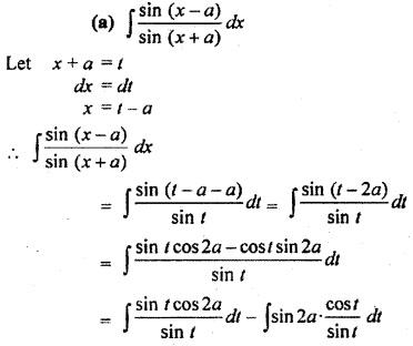 Class 12 Math 9.2 Integration RBSE