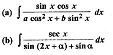 Maths 9.2 Class 12 Integration RBSE
