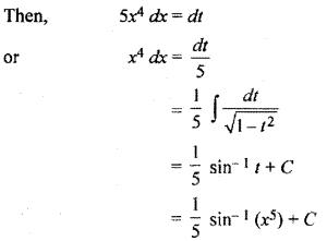Class 12 Maths Chapter 9 Exercise 9.3 Integration