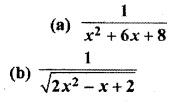 RBSE Solutions For Class 12 Maths Chapter 9 Miscellaneous Integration