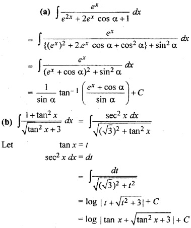 RBSE Solutions For Class 12 Maths Chapter 9.3 Integration