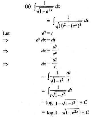 Exercise 9.3 Class 12 Maths RBSE Integration